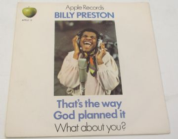 "Billy Preston THAT'S THE WAY GOD PLANNED IT 1969 UK 7"" NEAR MINT AUDIO"
